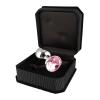 RIMBA análny kolík s ružovým kryštálom
