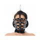 RIMBA bondage nastaviteľná kožená maska