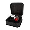 RIMBA análny kolík s červeným šperkom