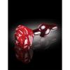 ICICLES análny kolík sklenená ruža