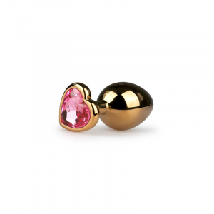 EasyToys Gold/Pink análny kolík
