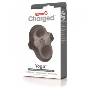 Screamingo Yoga vibračný krúžok na penis