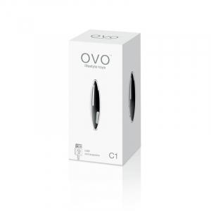 OVO C1 Rechargeable Mini Vibe Black